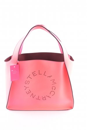 "Stella McCartney Shopper ""Logo Shopper Bag Fluo Pink"" neonpink"