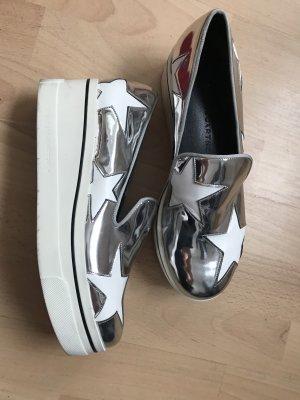 Stella MCCARTNEY  Silberne Schuhe