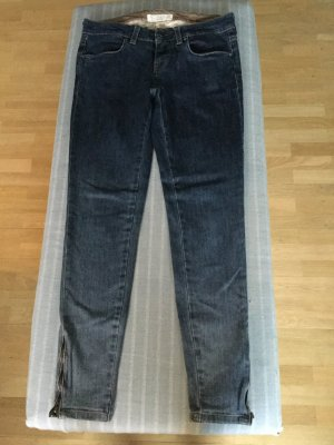 Stella McCartney Skinny jeans staalblauw Katoen