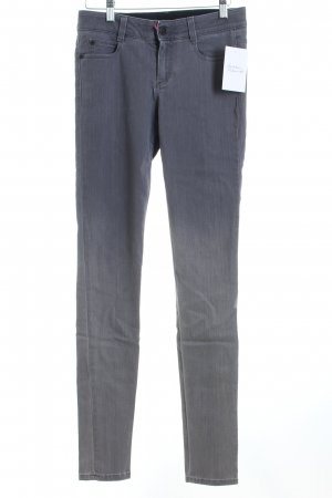 Stella McCartney Skinny Jeans grau-hellgrau Farbverlauf Casual-Look
