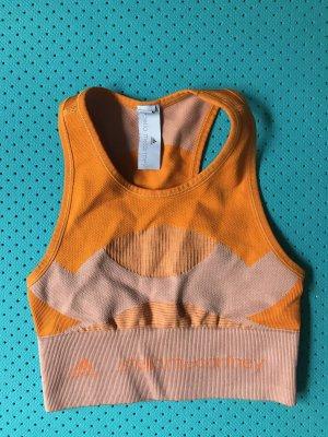 Adidas by Stella McCartney Bra neon orange-pink polyamide
