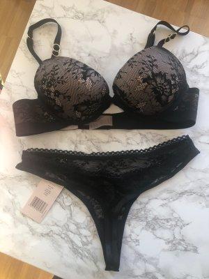 Stella McCartney Ensemble de lingerie noir