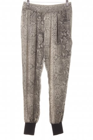 Stella McCartney Stoffhose Animalmuster Reptil-Optik