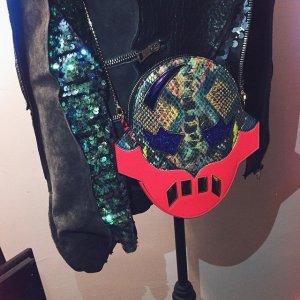 Stella McCartney Sac bandoulière multicolore faux cuir