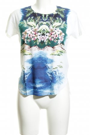 Stella McCartney T-Shirt Blumenmuster Casual-Look