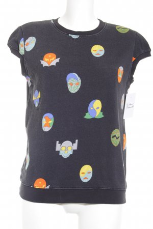 Stella McCartney T-Shirt Motivdruck Comic-Look