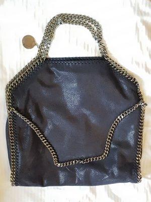 Stella McCartney Shopper zwart-zilver