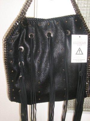 stella mccartney Tasche, neu, gross, schwarz.
