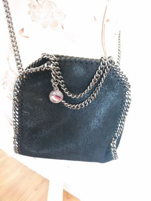 Stella Mccartney Tiny Falabella Shaggy Deer Black Tasche Umhängetasche