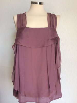 STELLA McCARTNEY Top Seide Luxus mauve rosé Gr.42it / 38dt! TOP ZUSTAND!