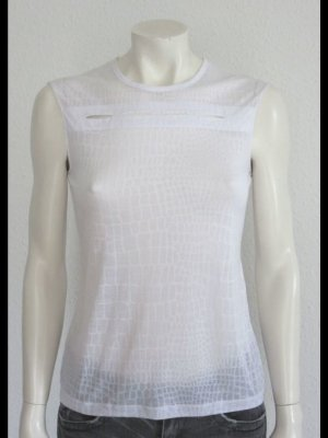 STELLA McCARTNEY TOP WEISS GR. 38