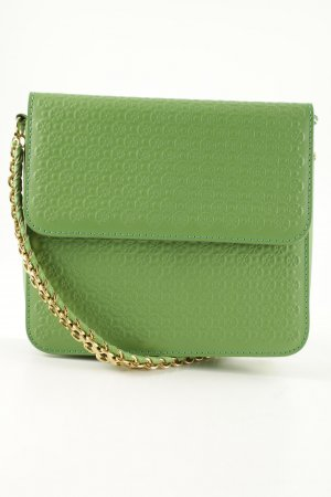 Stella McCartney Umhängetasche grasgrün-goldfarben Business-Look