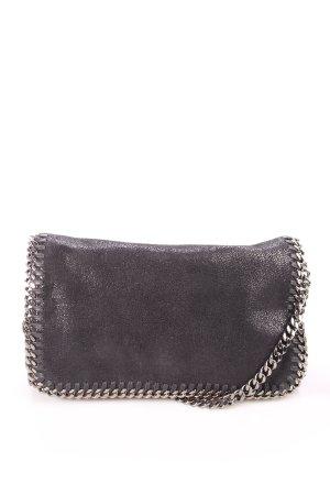 Stella McCartney Umhängetasche schwarz-silberfarben Eleganz-Look