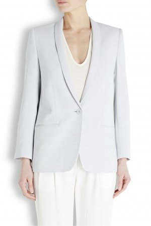 Stella NcCartney Mattea Blazer aus Stretch-Cady