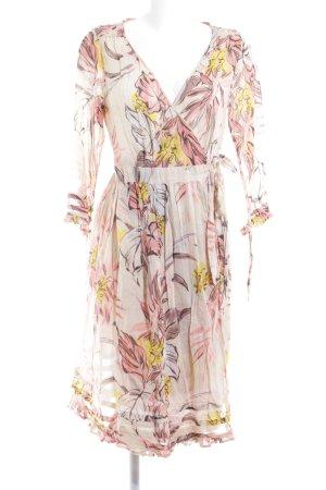 Stella Nova Robe portefeuille motif floral style décontracté