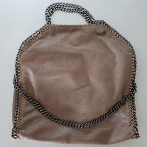 Stella McCartney Sac fourre-tout gris brun-gris anthracite polyester
