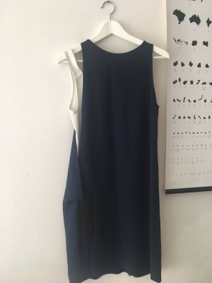 Stella McCartney Pencil Dress white-dark blue