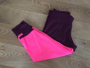 Adidas by Stella McCartney Mode donkerrood-neonroos