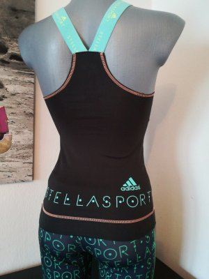 Stellasport Top Sport Top XXS XS 32 34 Bustier stretch Adidas Stella McCartney