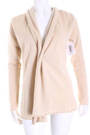 Stephan Boya Giacca in maglia beige chiaro stile semplice