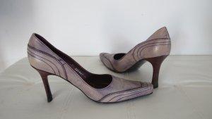 """Stephane Kèlian"" Pumps lila-used look  Vintage Style Gr.39 NP ca. 400,-€ !!"