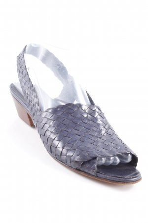 Stephane kélian Riemchen-Sandaletten blau Vintage-Look