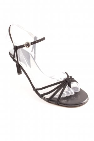 Stephane kélian Strapped High-Heeled Sandals black elegant