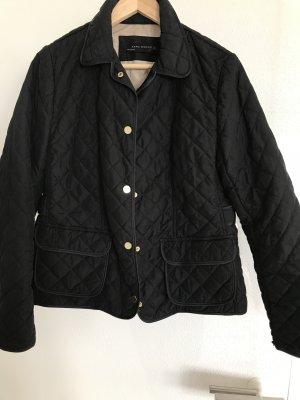 Zara Woman Veste matelassée noir polyester