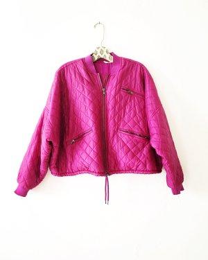 Free People Quilted Jacket violet-magenta
