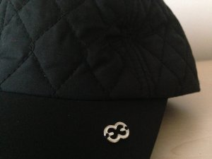 Escada Baseball Cap black-silver-colored