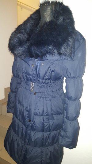 Stepp Parka mit Fake Fur