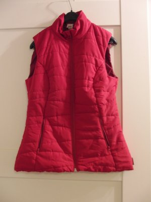 Quechua Quilted Gilet magenta-red