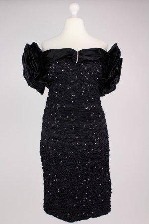Steppin Out Abendkleid schwarz Größe M