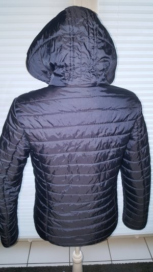Colours of the World Quilted Jacket grey-dark blue