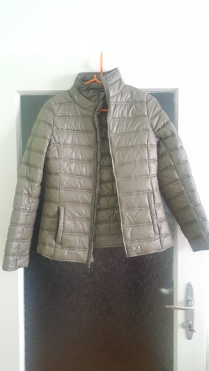 Blue Motion Quilted Jacket olive green