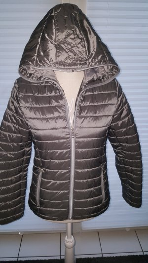 Colours of the World Quilted Jacket grey