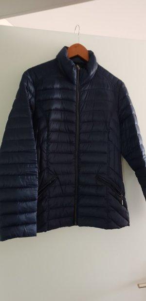 Charles Vögele Quilted Jacket dark blue