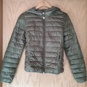 FB Sister Quilted Jacket olive green