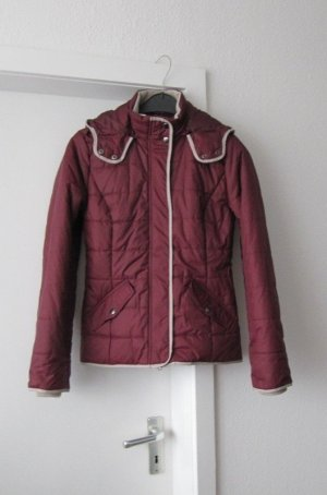 bpc Quilted Jacket bordeaux-carmine polyester