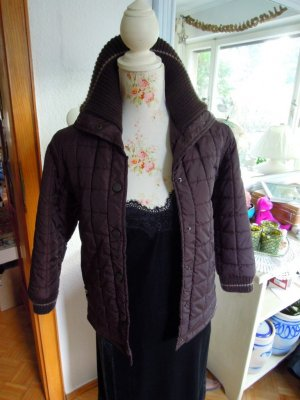 Alive Quilted Jacket dark brown