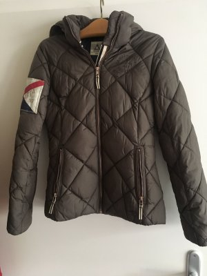 Gaastra Quilted Jacket taupe-dark blue