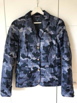 "Steppjacke ""Daunen""Jacke Tommy Hilfiger Camouflage, Gr. 4, blau"