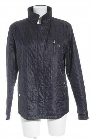 Steppjacke dunkelblau Steppmuster Casual-Look