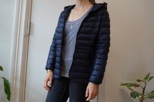 On Parle De Vous Quilted Jacket dark blue polyamide