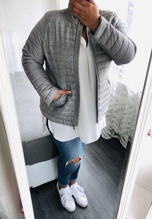 Yessica Veste matelassée gris