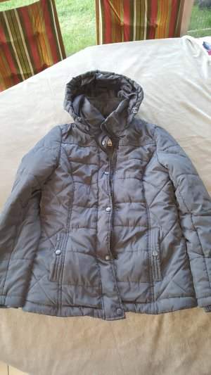 Blue Motion Quilted Jacket grey