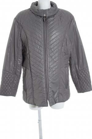 Steppjacke grau Steppmuster Casual-Look