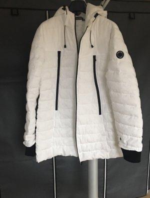 Abrigo acolchado blanco