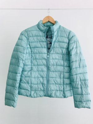 Quilted Jacket turquoise