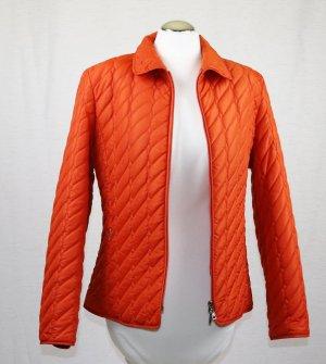 Steppjacke Jacke Gerry Weber Größe M 38 Orange Mandarin Kurzjacke Übergangsjacke